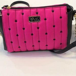 Betsey Johnson cross body purse